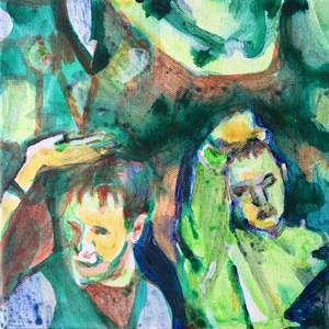 Untitled (green sweet), by Helen Dryden