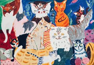Cat Calendar, by Helen Dryden