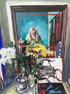 Me, mirror, Mezzanine, by Helen Dryden