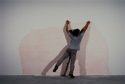 Ascent, (wall drawings)