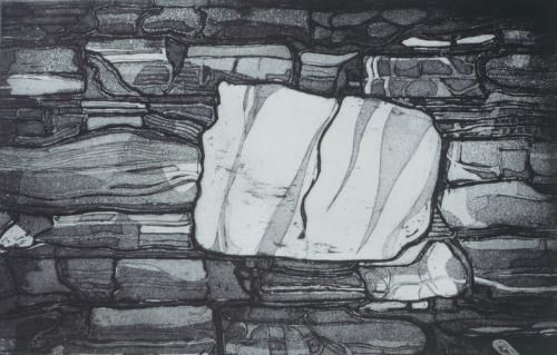 Broch stone wall