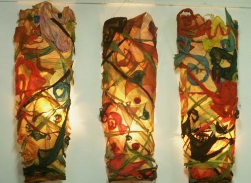 Three light pieces
