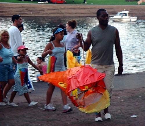 River Spirits Lantern Family Parade, Riverside Festival