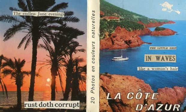 La Cote D'Azur - Postcard Concertina