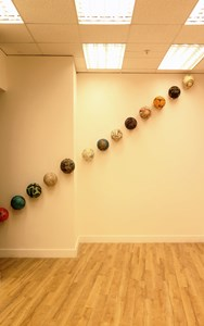 River balls, by Johana Hartwig