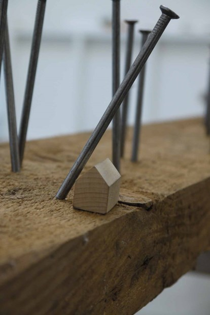 Building Walden 2014 (ArtSway, Hampshire Open Studios) - Credit: Simon Beeson
