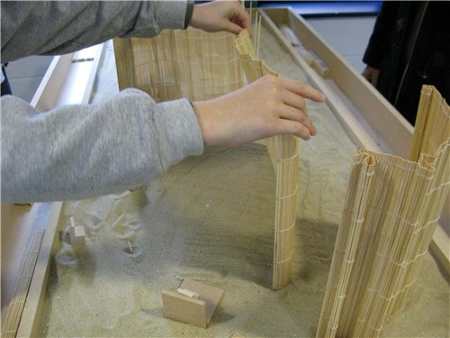 Sand table (1-part)