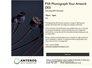 PYA(3D) ~ Photograph Your Artworks (3D), by Jeremy Webb