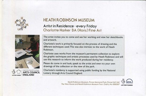 Heath Robinson Museum Residency