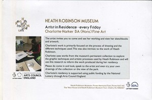 Heath Robinson Museum Residency, by Charlotte Harker