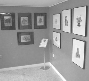 Drypoint Exhibition 2017, by Charlotte Harker