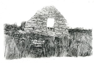 Cill Rialaig, by Charlotte Harker