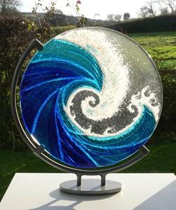 Glass Wave, by Ailsa Nicholson