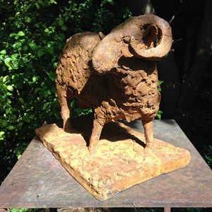 Charlie, The Ram, by Flora Gregory