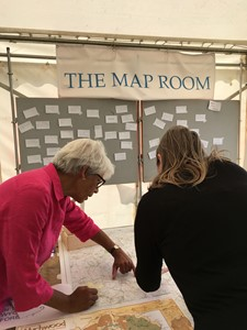 The Map Room: What's your Favourite Place in the Wychwood Forest ?, by Flora Gregory