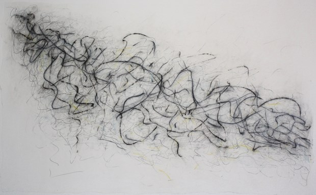 Drawing Debussy - Exhibition of works in response to music by Fiona Robinson, by Fiona Robinson