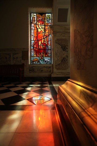 CELTIC MYTHS & LEGENDS WINDOW 2012, Belfast City Hall