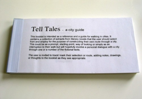 Tell Tales-a city guide