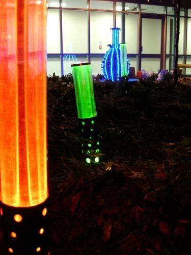 Garden Light Columns