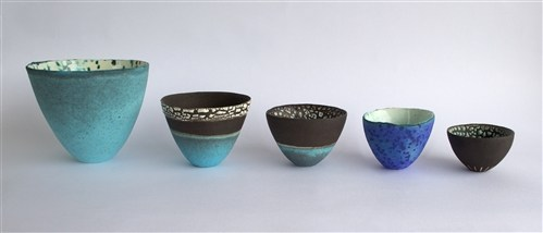 Tall bowls 1-5