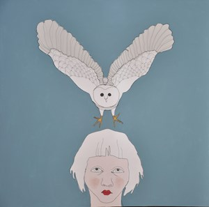 Child with Owl, by Fiona Morley