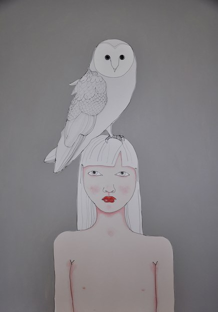 Girl with Owl.