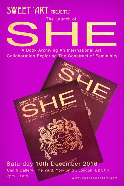 SHE International Book Launch