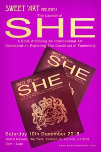 SHE International Book Launch, by Maria Garton