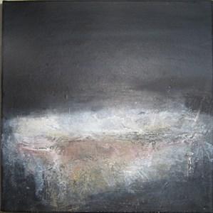 black landscape [i], by Sue Knight