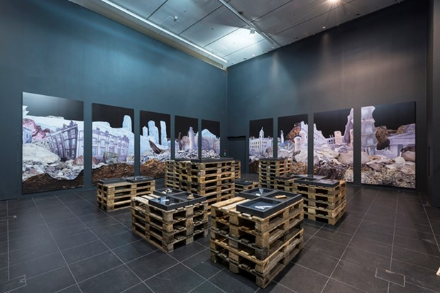 'Anthropo-scene', Bloomberg Space, London