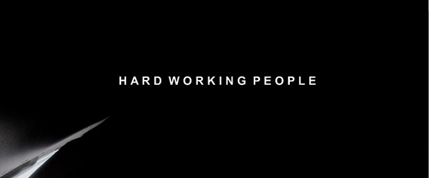 HARD WORKING PEOPLE   (Film) - Credit: Michael Salkeld