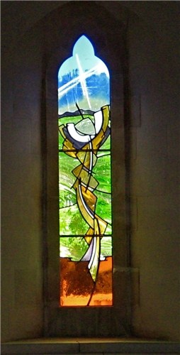 St Matthew's Church, Frome's Hill, Herefordshire - central window from 3-light series
