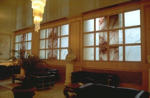South Bank University: windows