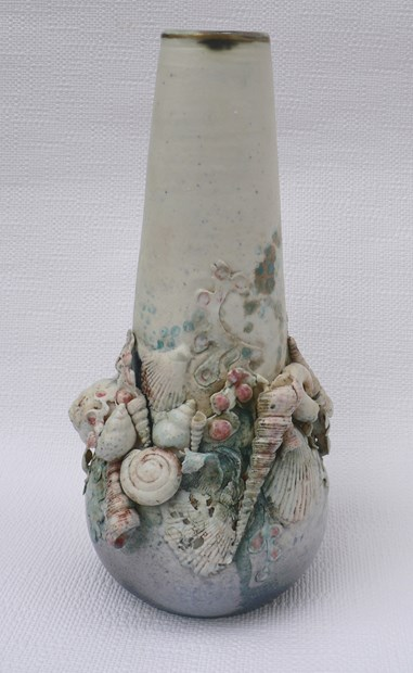Sea Vase Elaine Hind Axisweb Contemporary Art Uk Network