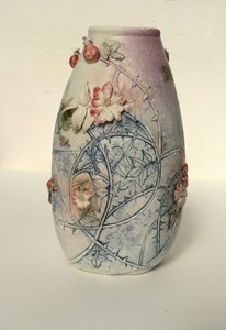 Briar Rose Vase, by Elaine Hind