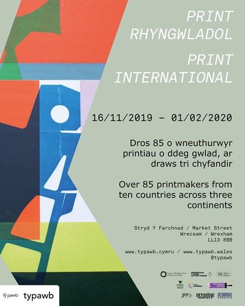 Ty Pawb Print International 2019, by Sharon Baker
