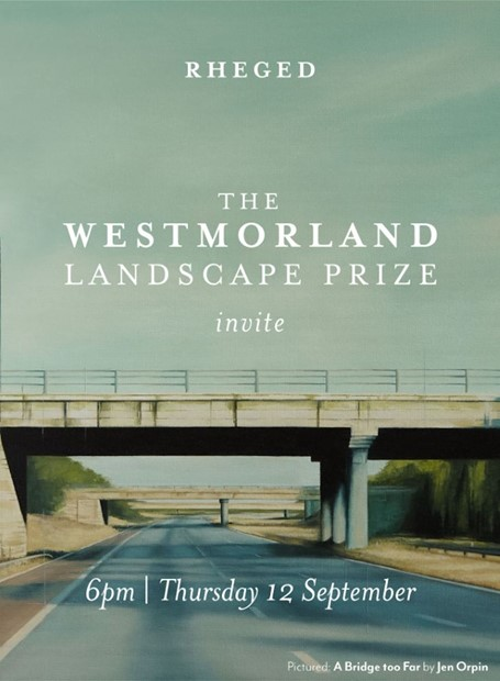 The Westmorland Landscape Prize Invite