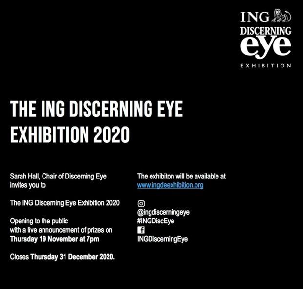 The ING Discerning Eye 2020, by Sharon Baker