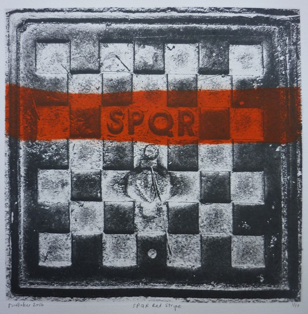 SPQR Red Stripe