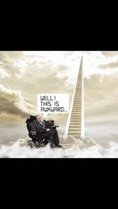 Stephen Hawking has died, by Stuart Haden