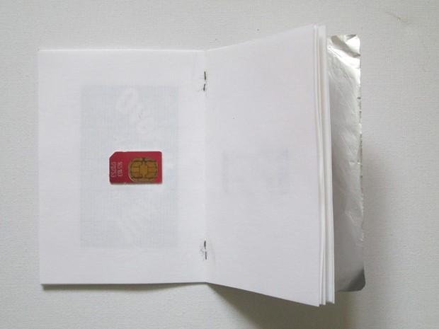 Foil bound book