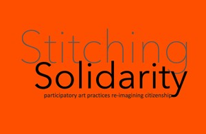 Stitching Solidarity I (10-14 August 2020), by Antoinette Burchill