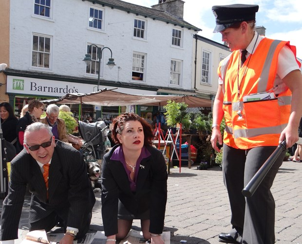 Bankers on Active Community Service, Mintfest - Credit: Photographer: Ellis Butcher