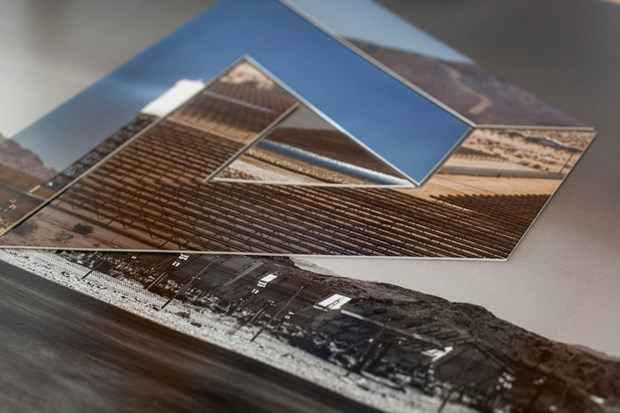 Impossible Triangle, Solar Fields, Nevada