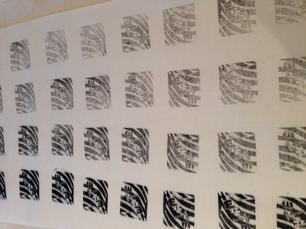 Ink Water Paper, by Diane Roberts