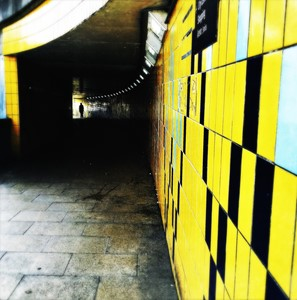 Woodhouse Lane Underpass, Leeds, by Lisa Mitchell