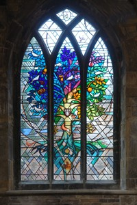 St. Mary's Church, Melton Mowbray, Leicestershire, by Derek Hunt