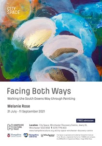 Facing Both Ways: Walking the South Downs Way through Painting, by Melanie Rose