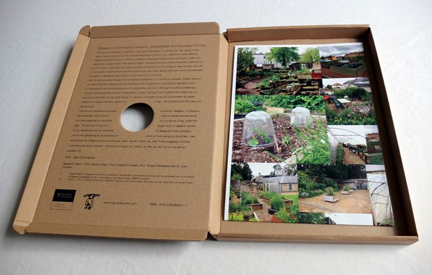 Urban Agriculture Growing Care - Credit: Double sided print inside box