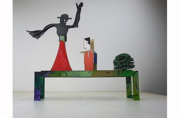tryptich [maquette]